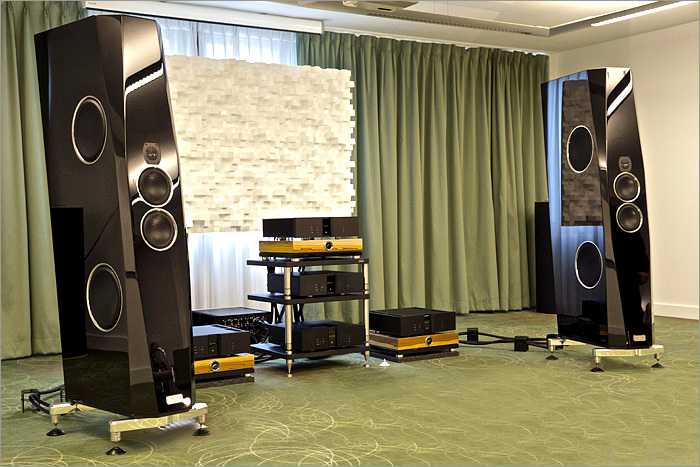 TIDAL at the HIGH END Brussel Show in BELGIUM