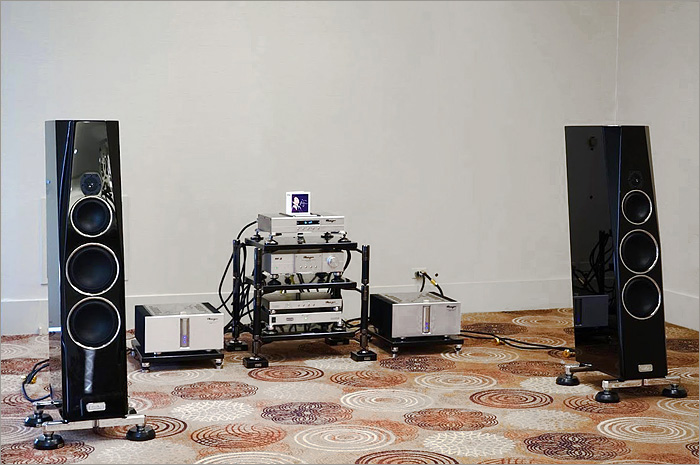 TIDAL at the Toronto Audio Show (TAVES) in CANADA