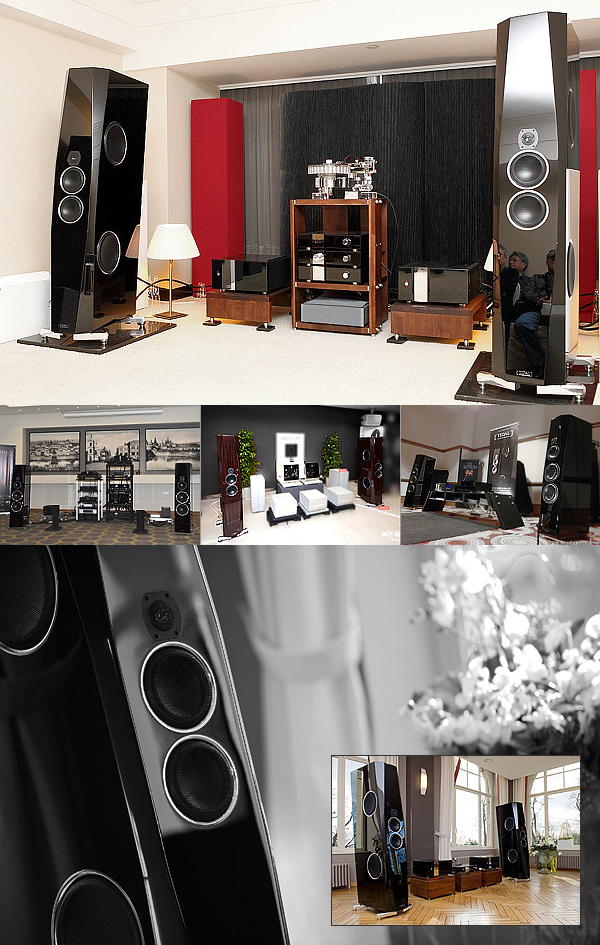 TIDAL Agoria and Contriva Diacera was displayed at audio shows in Japan, France, Russia, Taiwan and Belgium