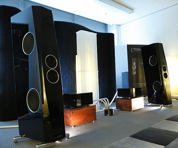 TIDAL did exhibit at the HIGH END show 2012 in Munich and premiered the TIDAL Agoria