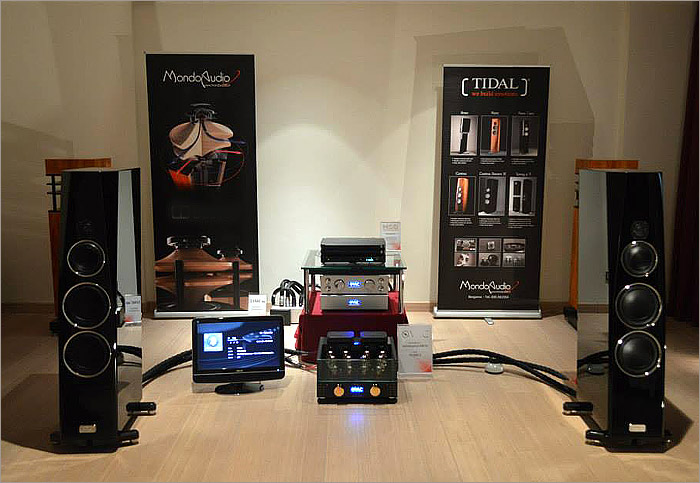 TIDAL Contriva G2 at the Highend audio show in ROME
