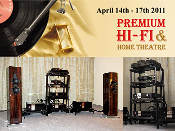 """TIDAL exhibited at the """"Premium HiFi-Show 2011"""" in Moscow / Russia"""